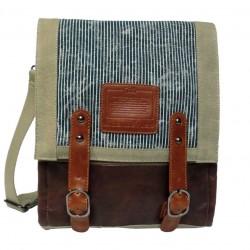 LICENCE 71195 Jumper Canvas MV Messenger Bag, Beige