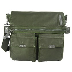 LICENCE 71195 Commuter OZ Messenger Bag, Khaki