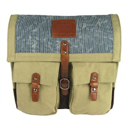 LICENCE 71195 Jumper II Canvas Messenger Bag, Beige