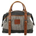 LICENCE 71195 Jumper Canvas Overnight Bag, Grey