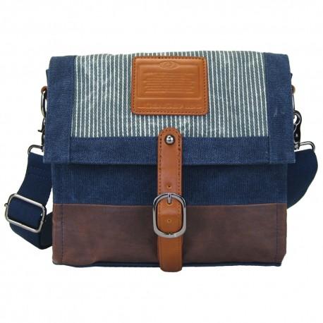 LICENCE 71195  Jumper Canvas M Shoulder Bag, Navy
