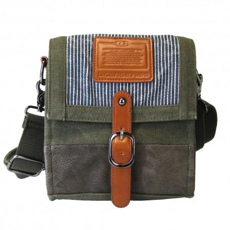 LICENCE 71195  Jumper Canvas S Shoulder Bag, Khaki