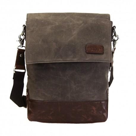 LICENCE 71195 College WaxC Shoulder Bag, Brown