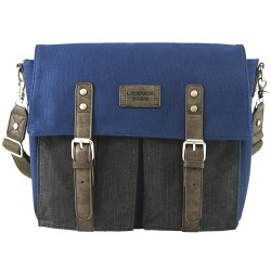 LICENCE 71195 College PiqueC Messenger Bag, Navy