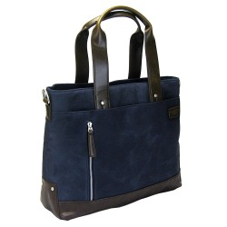 LICENCE 71195 College WaxC Tote Bag, Navy