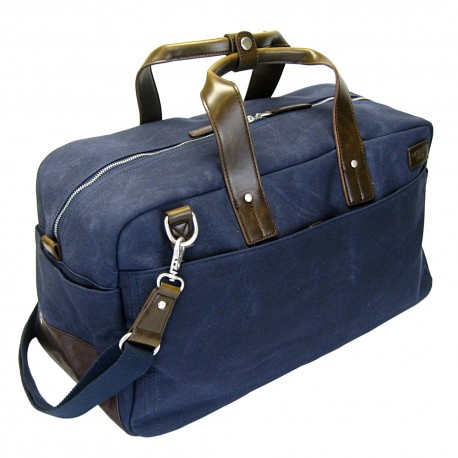 LICENCE 71195 College WaxC Duffle Bag, Navy