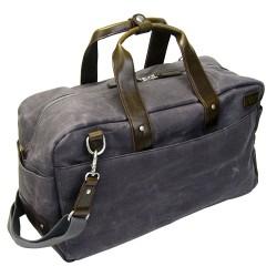 LICENCE 71195 College WaxC Duffle Bag, Grey