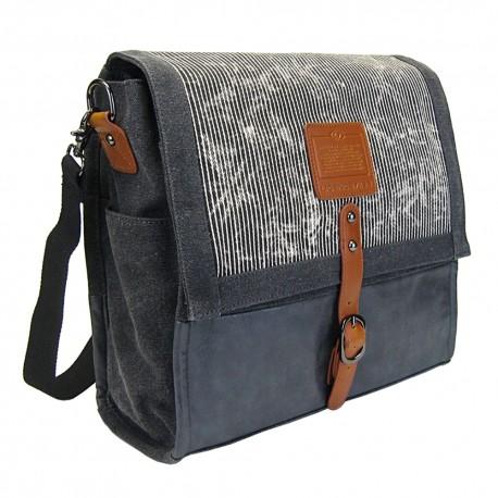LICENCE 71195  Jumper Canvas Messenger Bag, Grey