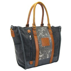 LICENCE 71195 Jumper II Canvas Tote Bag, Grey