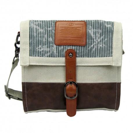LICENCE 71195  Jumper Canvas M Shoulder Bag, Beige