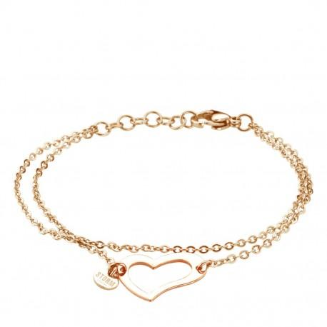 HEART Bracelet - Rose Gold by STORM