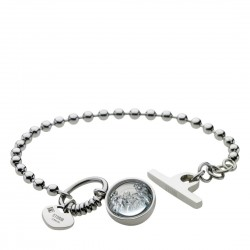 CRYSTA BALL Bracelet - Silver by STORM