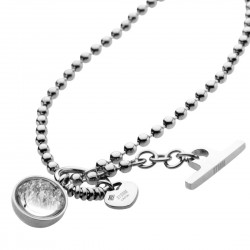 CRYSTA BALL Necklace - Silver by STORM