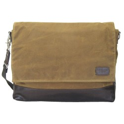 LICENCE 71195 College WaxC Messenger Bag, Camel
