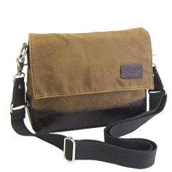 LICENCE 71195 College WaxC W Shoulder Bag, Camel
