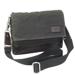 LICENCE 71195 College WaxC W Shoulder Bag, Grey