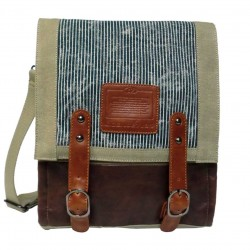 LICENCE 71195 Jumper Canvas MV Messenger Bag, Beige
