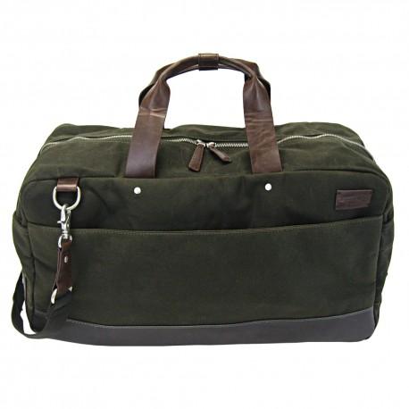 LICENCE 71195 College WaxC Duffle Bag, Khaki