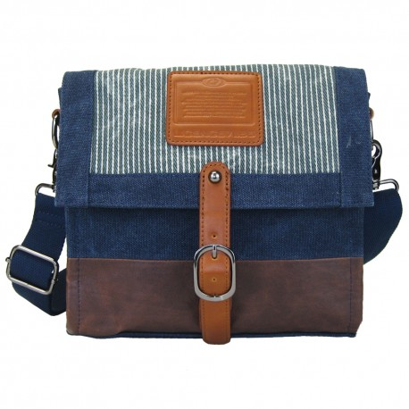 LICENCE 71195  Jumper Canvas M Shoulder Bag, Navy