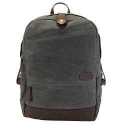 LICENCE 71195 College WaxC Backpack, Grey