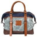 LICENCE 71195 Jumper Canvas Overnight Bag, Navy