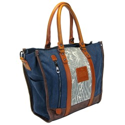LICENCE 71195 Jumper Canvas W Tote Bag, Navy
