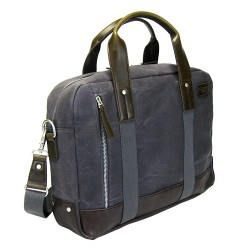 LICENCE 71195 College WaxC Briefcase, Grey
