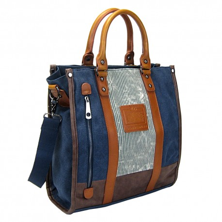LICENCE 71195 Jumper II Canvas Totebag, Navy