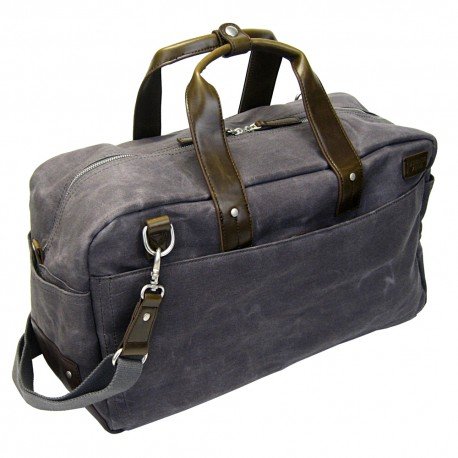 LICENCE 71195 College WaxC Duffle Bag, Grey