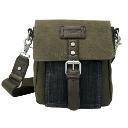 LICENCE 71195 College PiqueC SS Shoulder Bag, Khaki