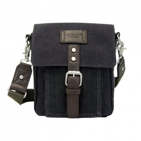 LICENCE 71195 College PiqueC SS Shoulder Bag, Grey