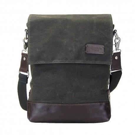 LICENCE 71195 College WaxC Shoulder Bag, Grey