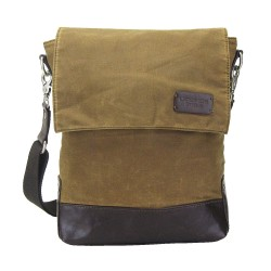 LICENCE 71195 College WaxC Shoulder Bag, Camel