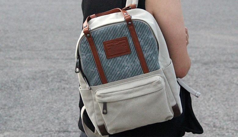 LICENCE 71195 Jumper Canvas Backpack/Carrying Bag